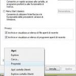 Menù Start Classico in Windows Vista