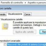 Visualizzare file protetti di sistema in Vista