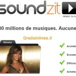 Soundzit: milioni di brani musicali, gratis